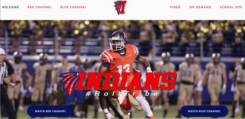 Live streaming video of the Indians