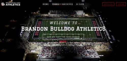 Live streaming video of the Brandon Bulldogs