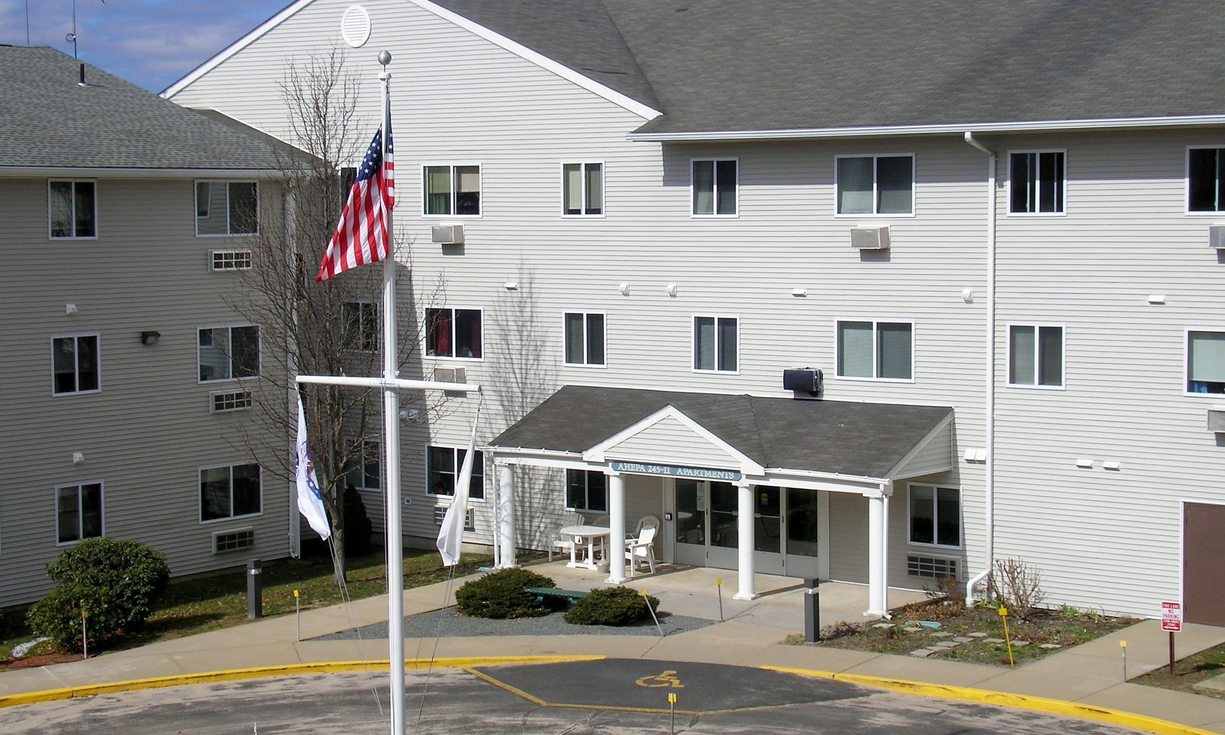 AHEPA 245 II Senior Apartments - 87 Girard AvenueNewport, RI 02840(401) 846-8619TTY: (800) 745-5555 or 711 (English)TTY: (866) 355-9214 or 711 (Español)info@ahepahousing.org