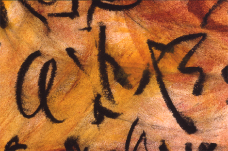 large scroll 3, detail