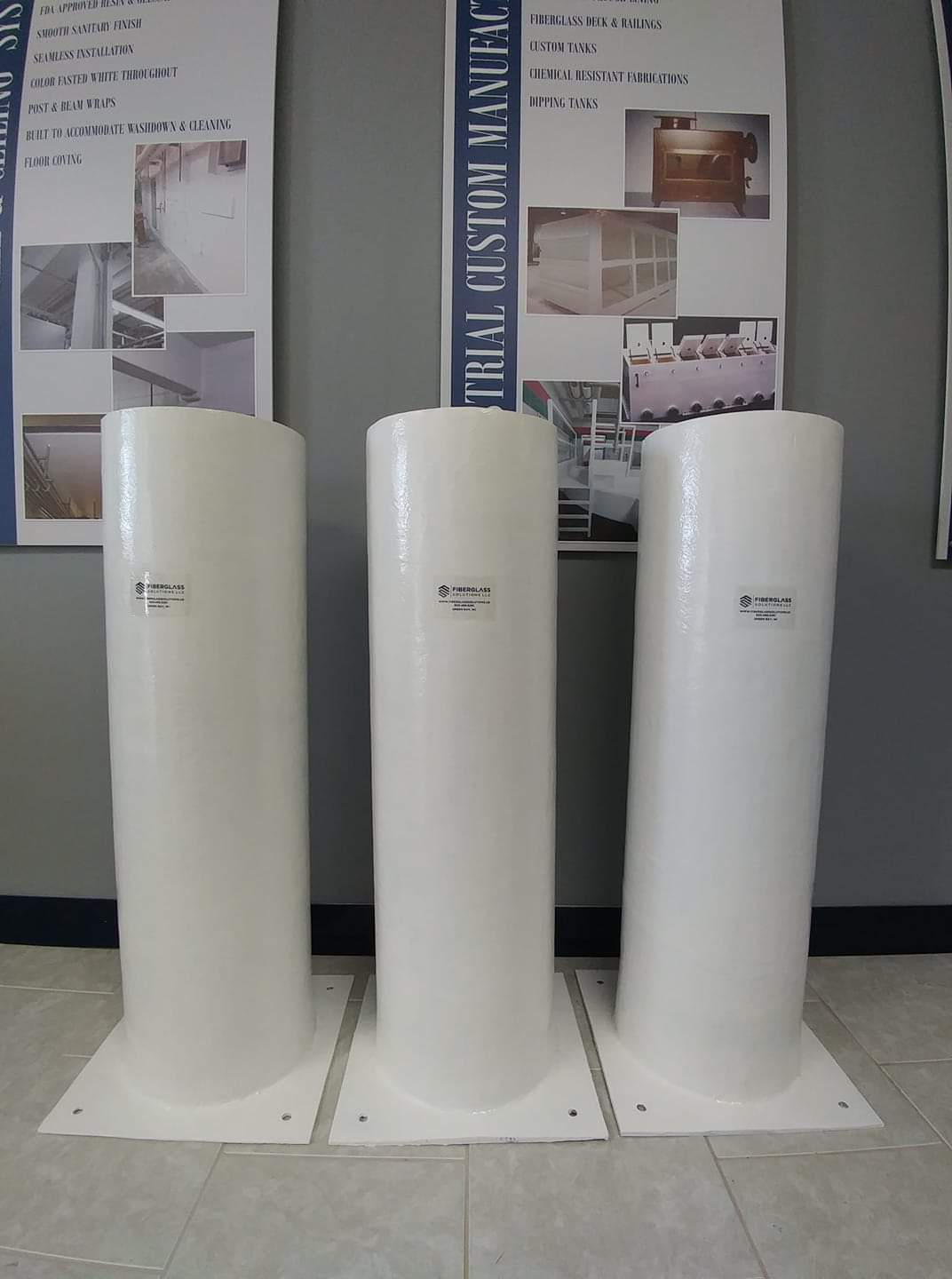 Custom Projects - We provide custom fiberglass solutions and are always looking for new opportunities to help your business grow.