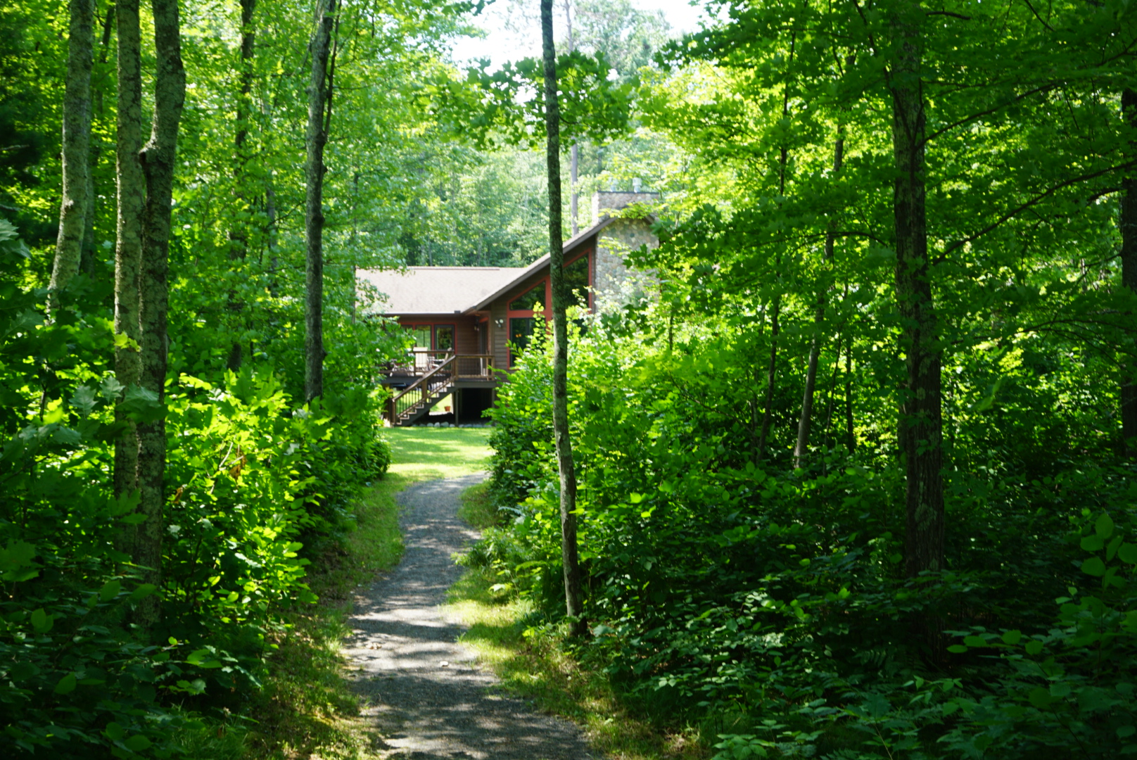 Cabin in the woods makes a great bachelorette party venue.