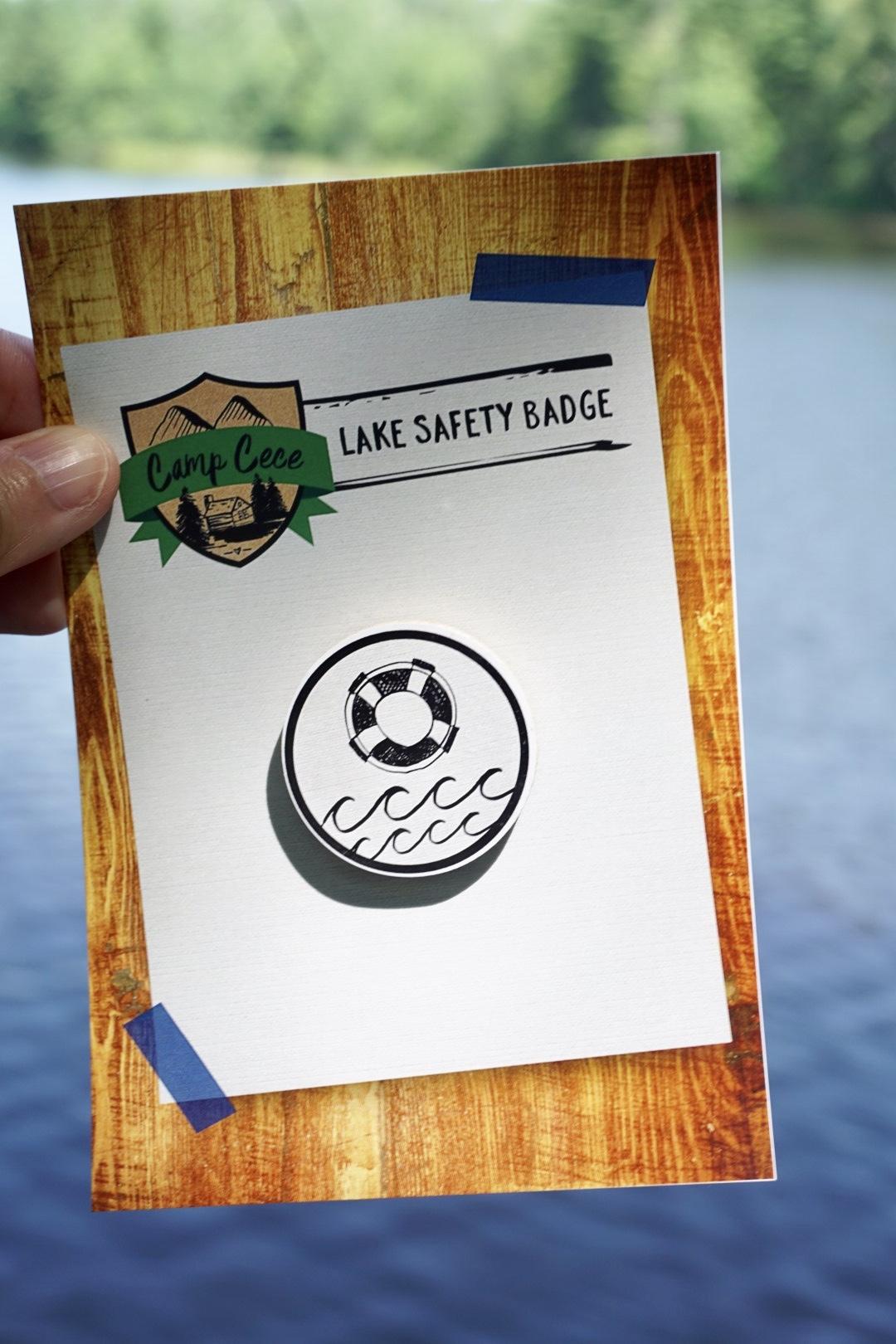 Lake safety merit badge