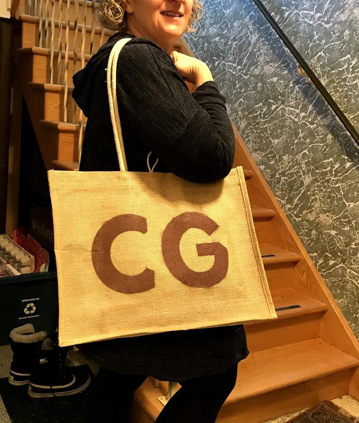 Dollar Store Monogram Bag