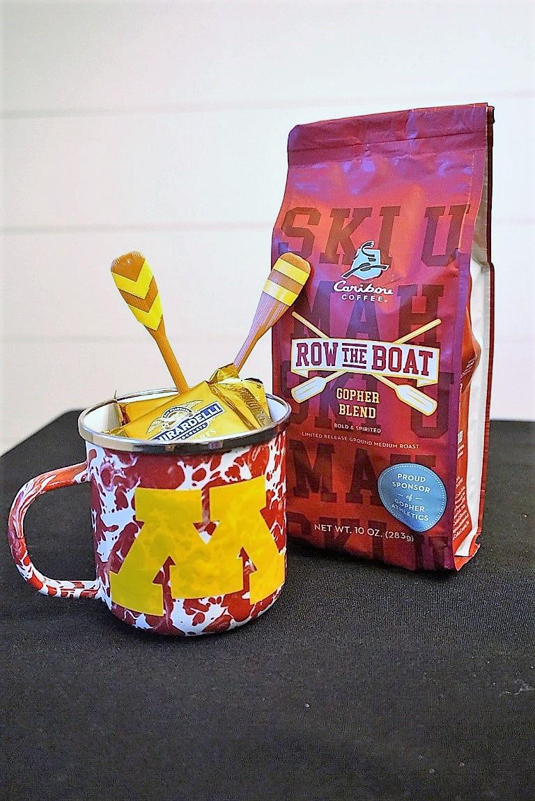 Minnesota coffee mug with Row the Boat coffee