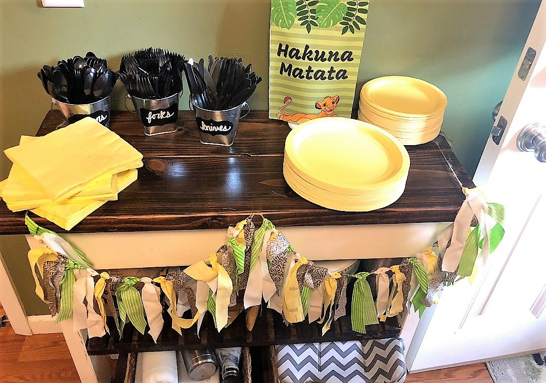 Lion King first birthday party ideas