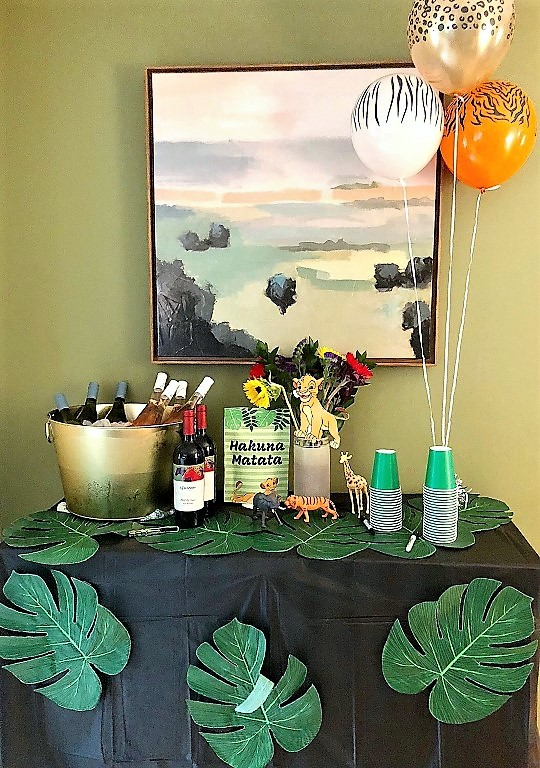 Serve jungle juice at a Lion King themed birthday party
