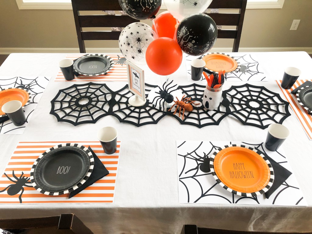 Spider themed halloween party ideas