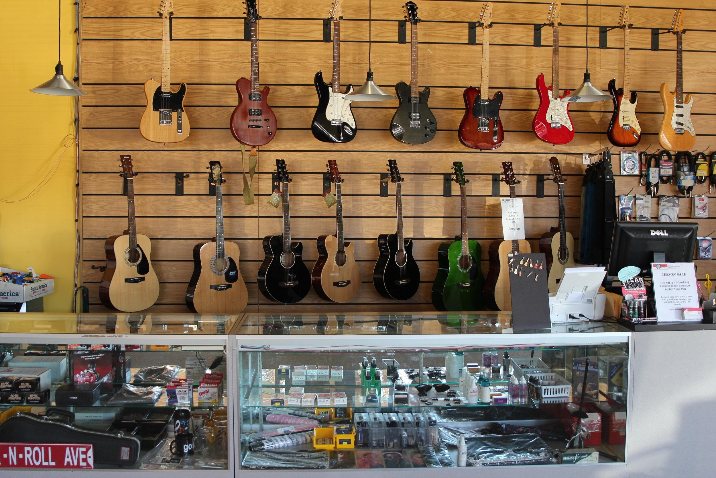 Find Instruments  -