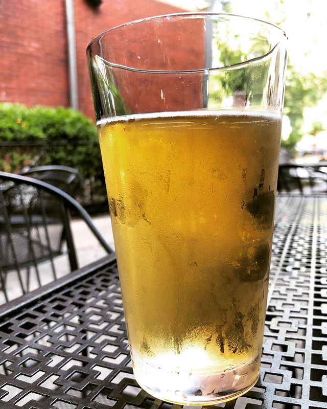 Back at it tonight with @spectrvmsofficial and @the_ape_tones at @northsidetav in Cincy. Should've taken a pic of us eating @tacobell chili cheese quesadillas on the patio but we ate them too fast so here's a cold pint instead. #cheers