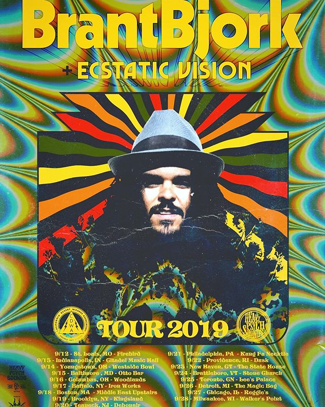 Had a blast these past two days but third time's the charm...super excited that our final show of the month/year is opening for the legendary @brant_bjork at @woodlandstavern on 9/16!! @ecstaticvision is also on the bill, so we shouldn't have to tell you...DONT MISS THIS SHOW!