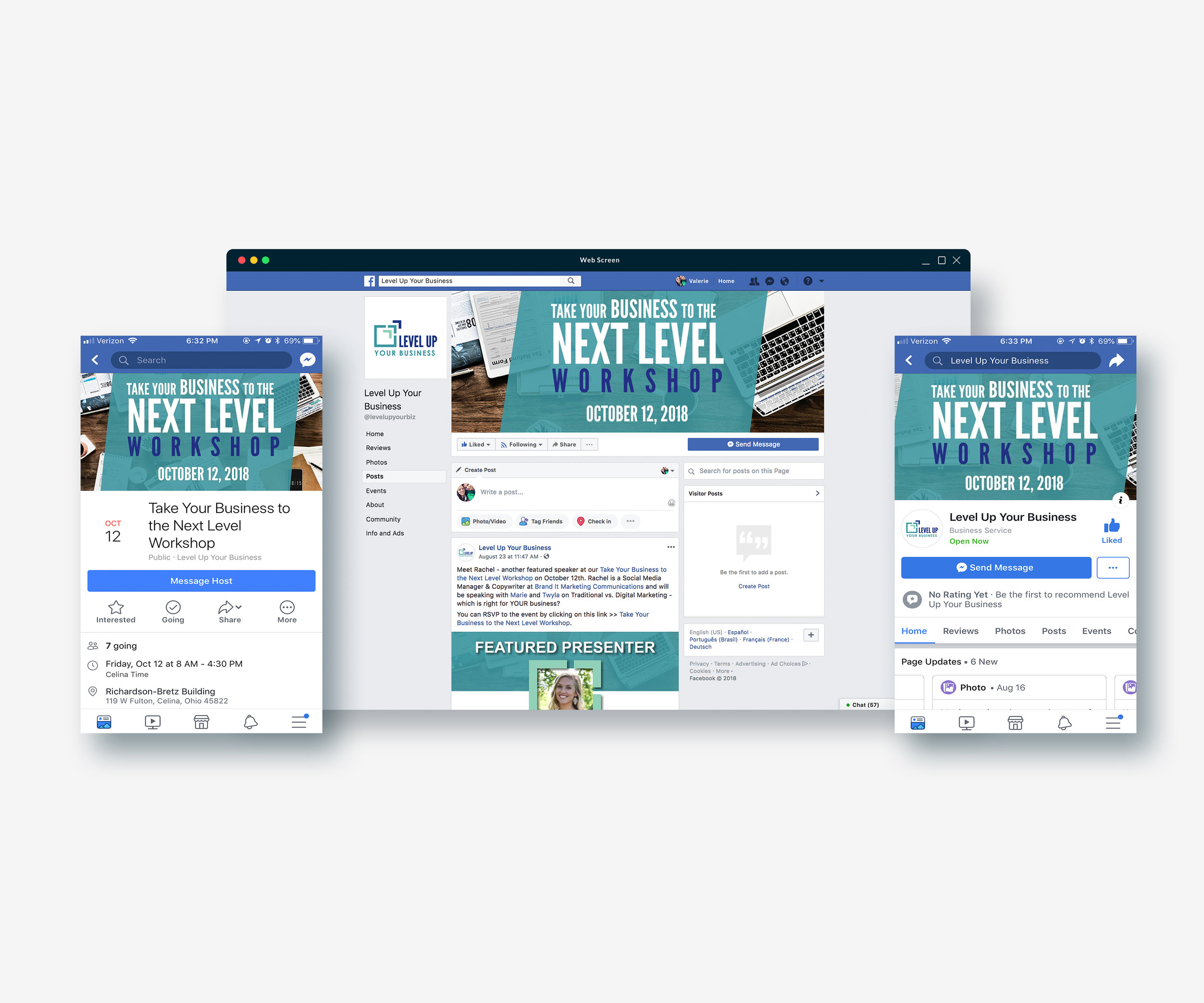 Social Media Event Banners