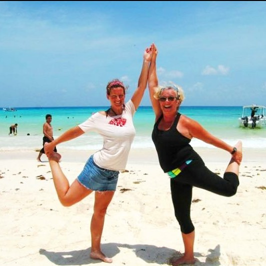 These 2 ladies took their 200hr YTT course with us at Yoga By The Sea in Playa del Carmen! If you want a life changing experience, come join us Fall 2018 💕 • Go to www.morethanyoga.com to register today 🙏🏼 • #tbt #yogathrowback #ytt #200hr #yogaallianceschool #yogateacher #yogainspiration #yogalife #yogalove