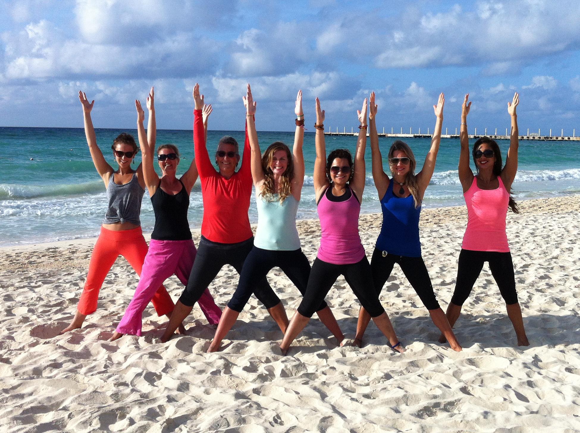 yoga teacher training grads