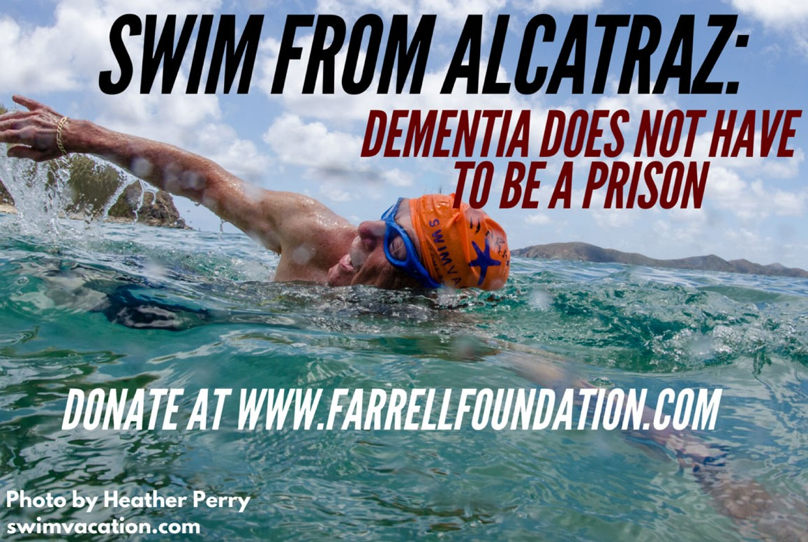 Swim from Alcatraz Farrell Foundation