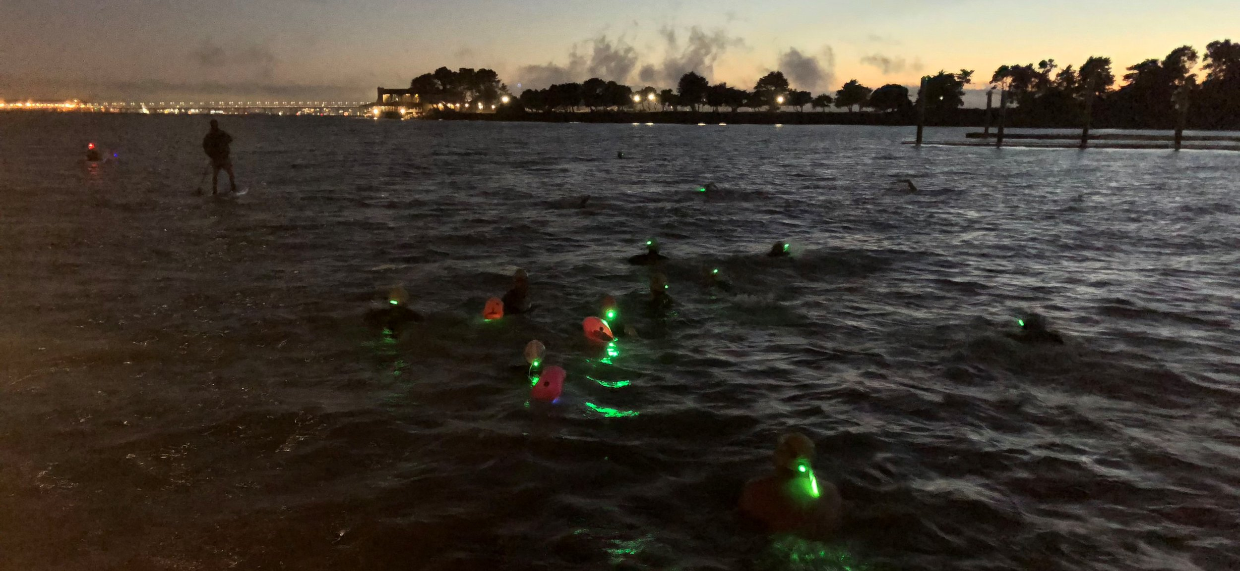 Night Swim with Odyssey Open Water Swimming