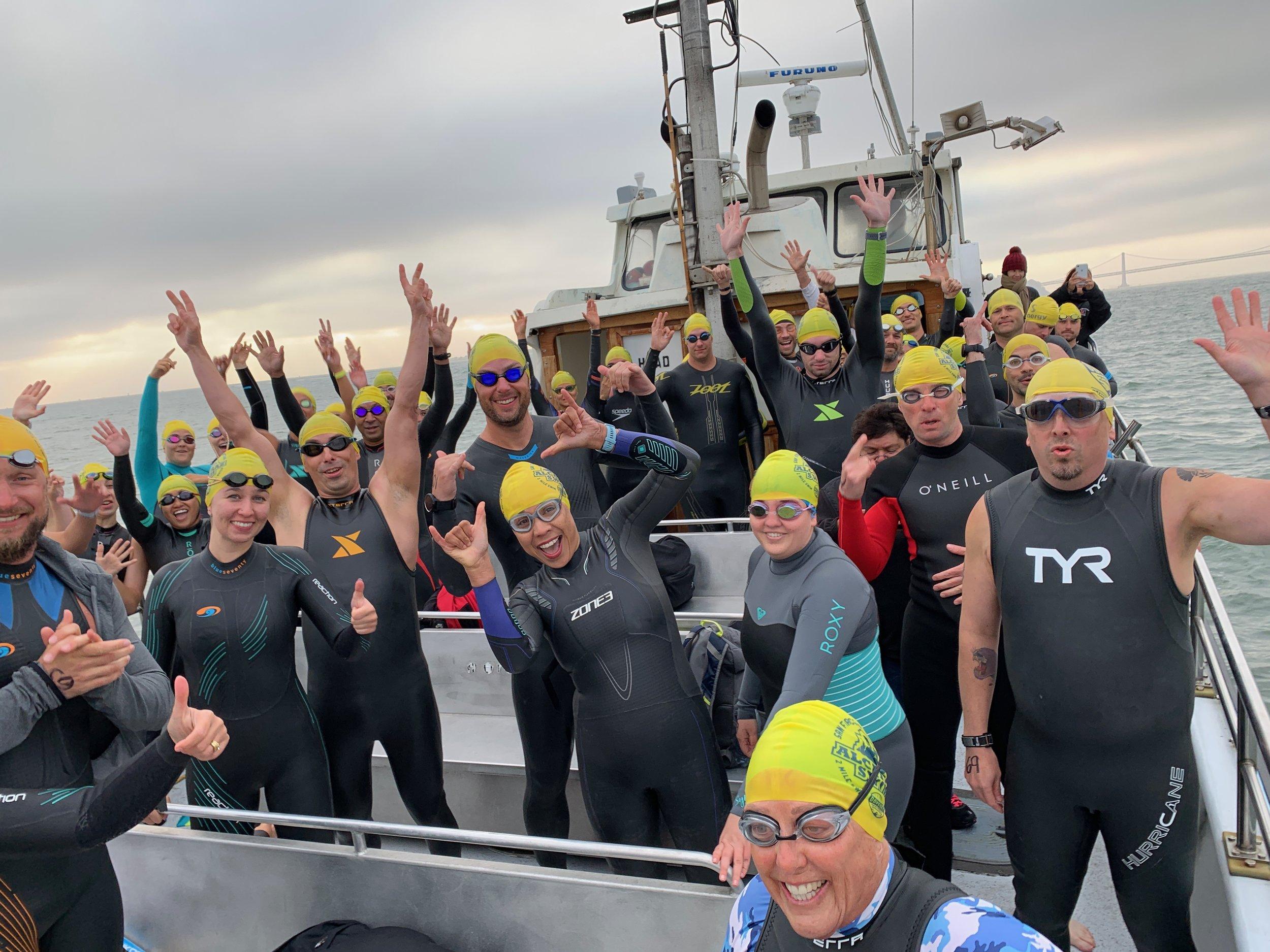 Odyssey Alcatraz Swim