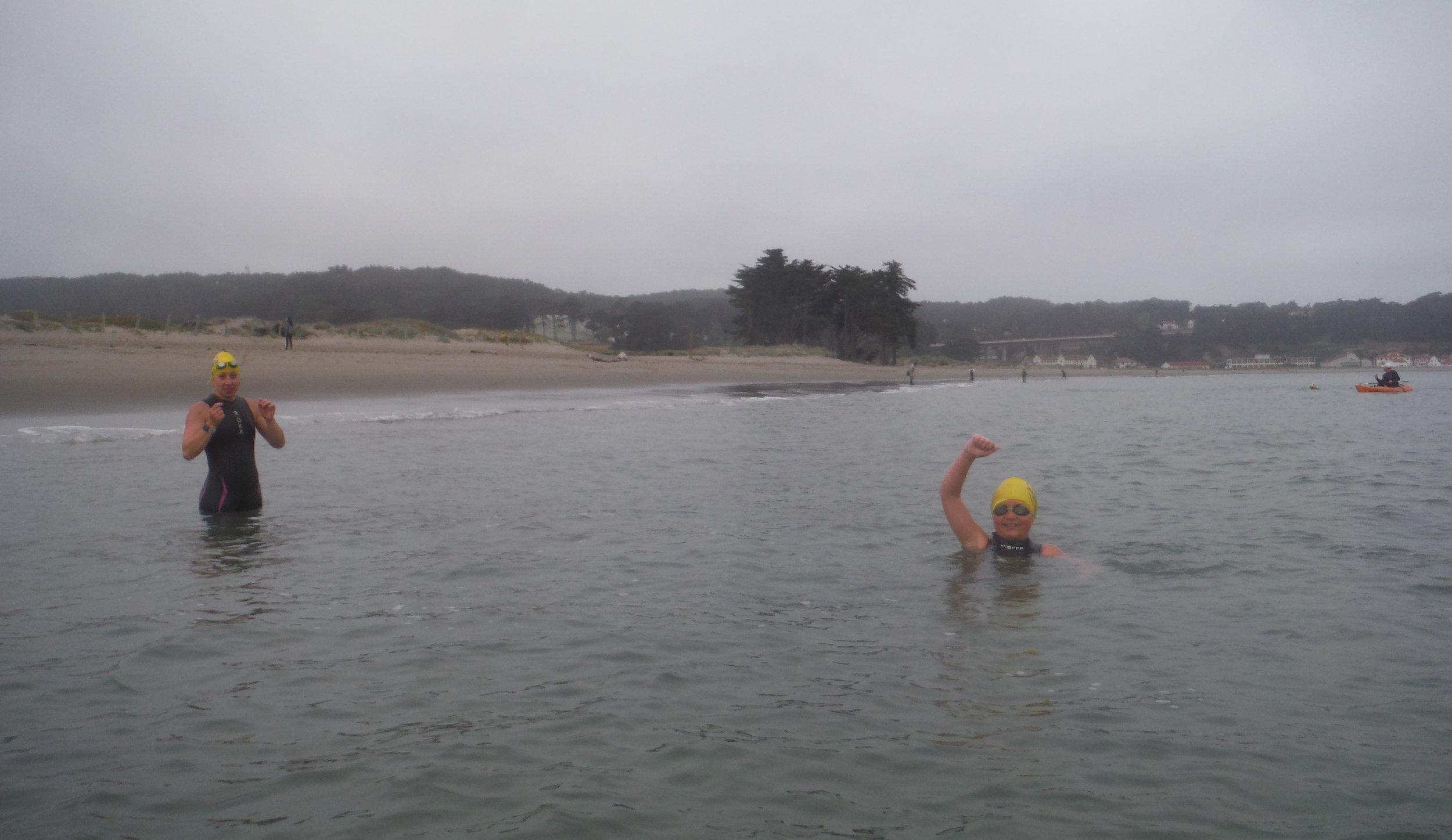 Ryan finished Alcatraz Odyssey