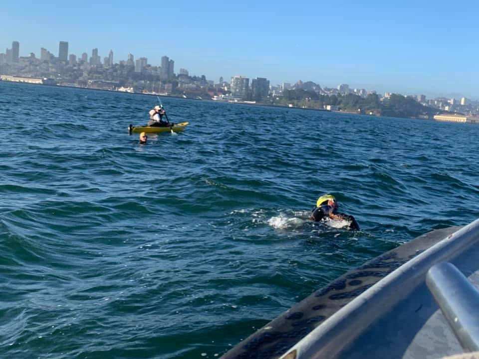 Escape from Alcatraz Swim Carolyn Farrell Foundation
