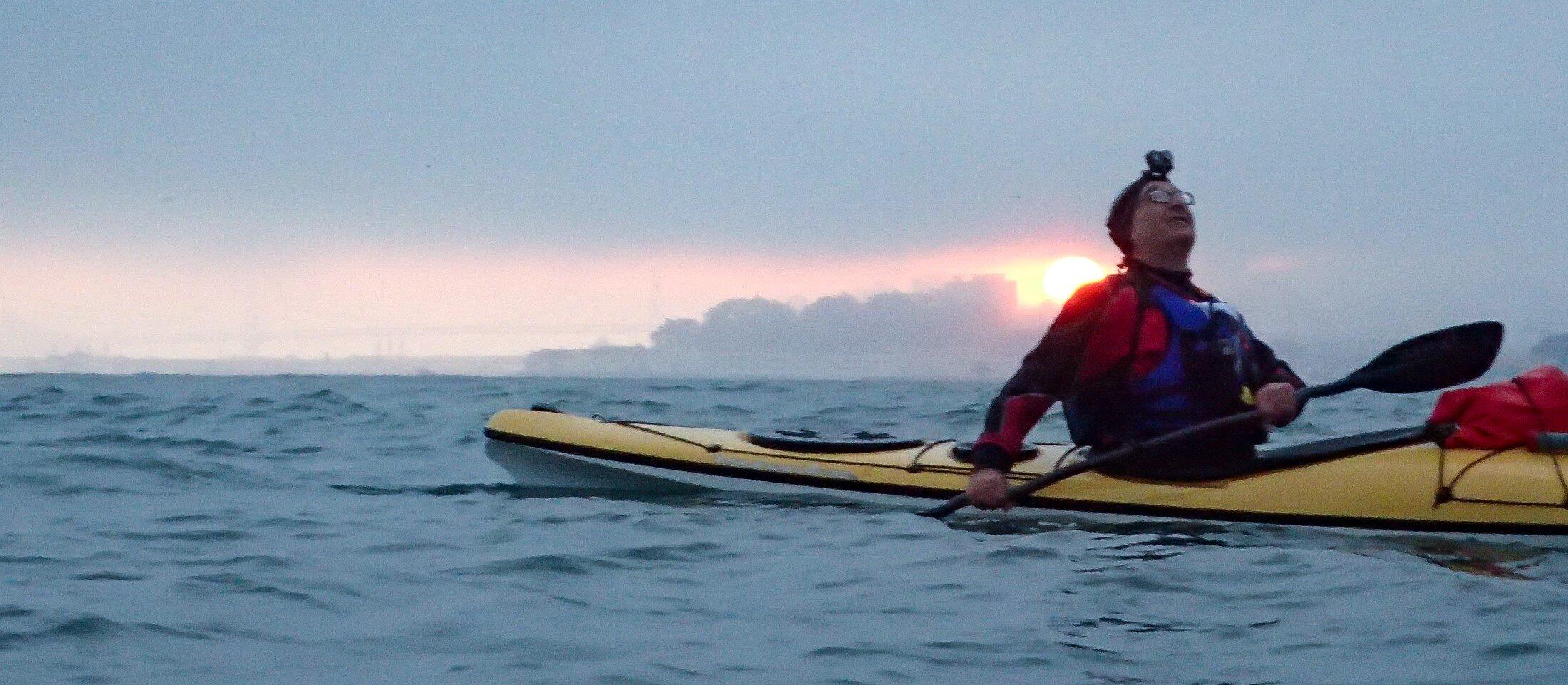 Kayaking for Bridge to Bridge Swim