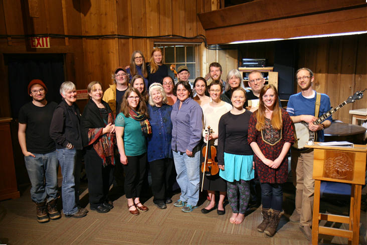 Holden Village cast of  Daughters of Lilith,  2015.