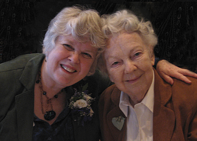 With my Mom, Jean Barkley, at my induction into the Northwest Women's Hall of Fame in 2010.