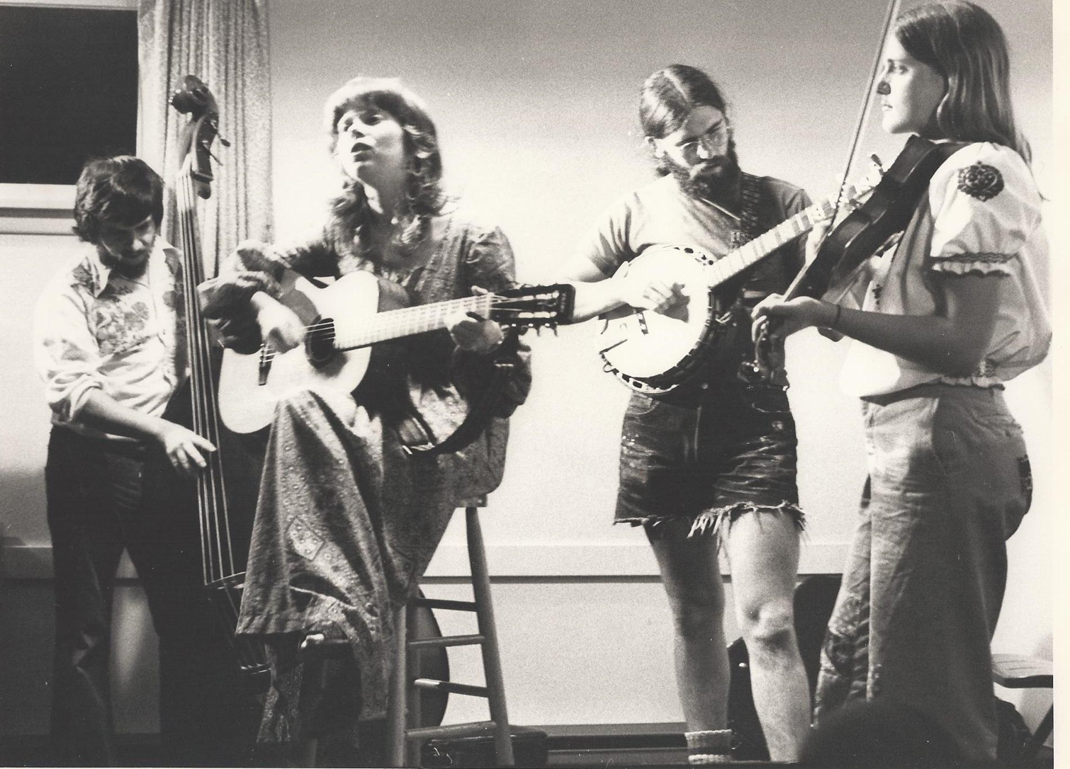 I moved to Bellingham in 1976. I worked with the Whatcom Museum to collect songs about the Northwest, resulting in The Rainy Day Songbook and cassette. Laura Smith, Jim Zito and I were The Rainy Day Band, specializing in Northwest songs. Great fun!