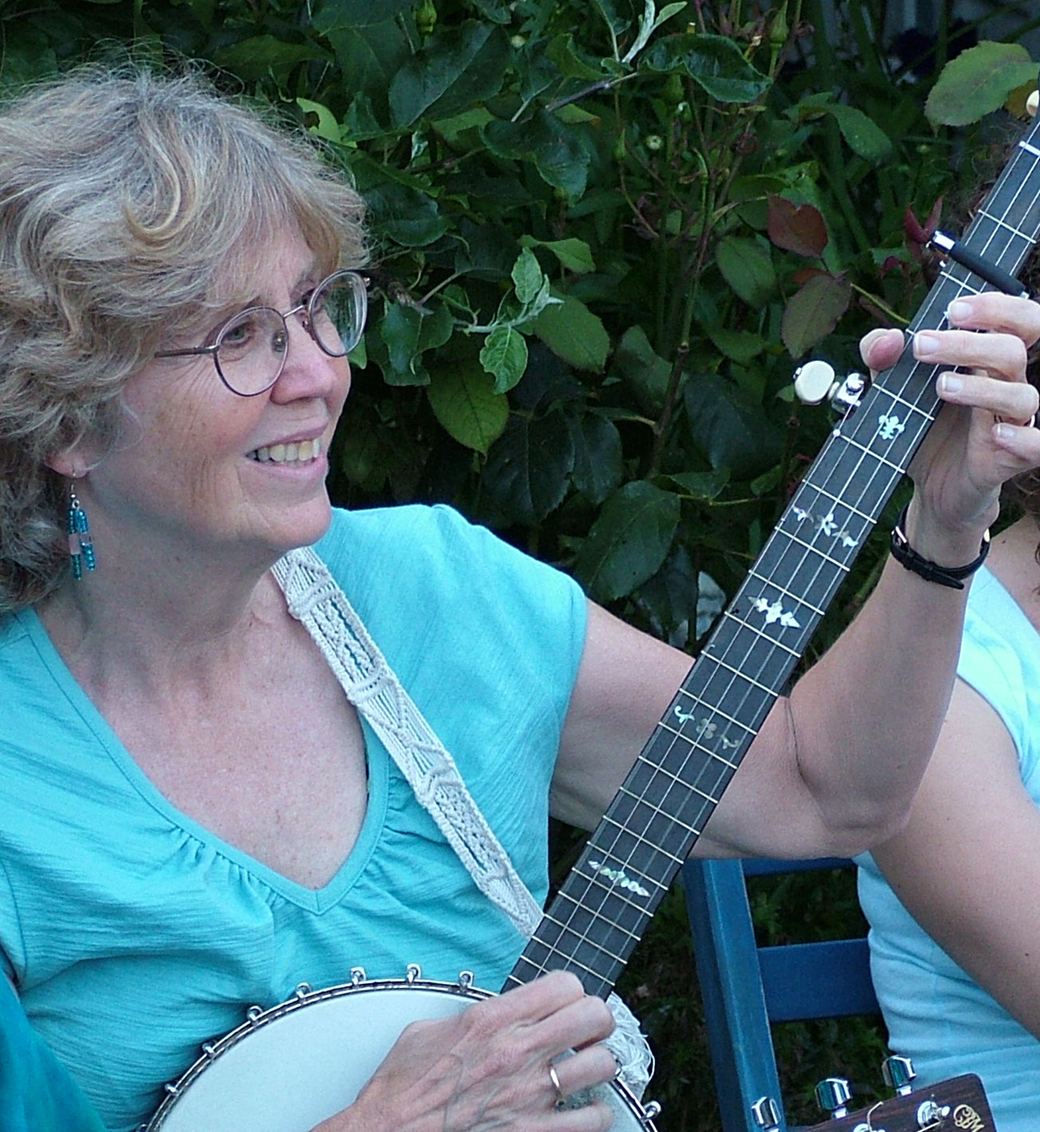 My friend, Laura Smith. I don't think there 's a recording that I made that didn't include her exquisite frailing banjo. A dear friend and musical partner.