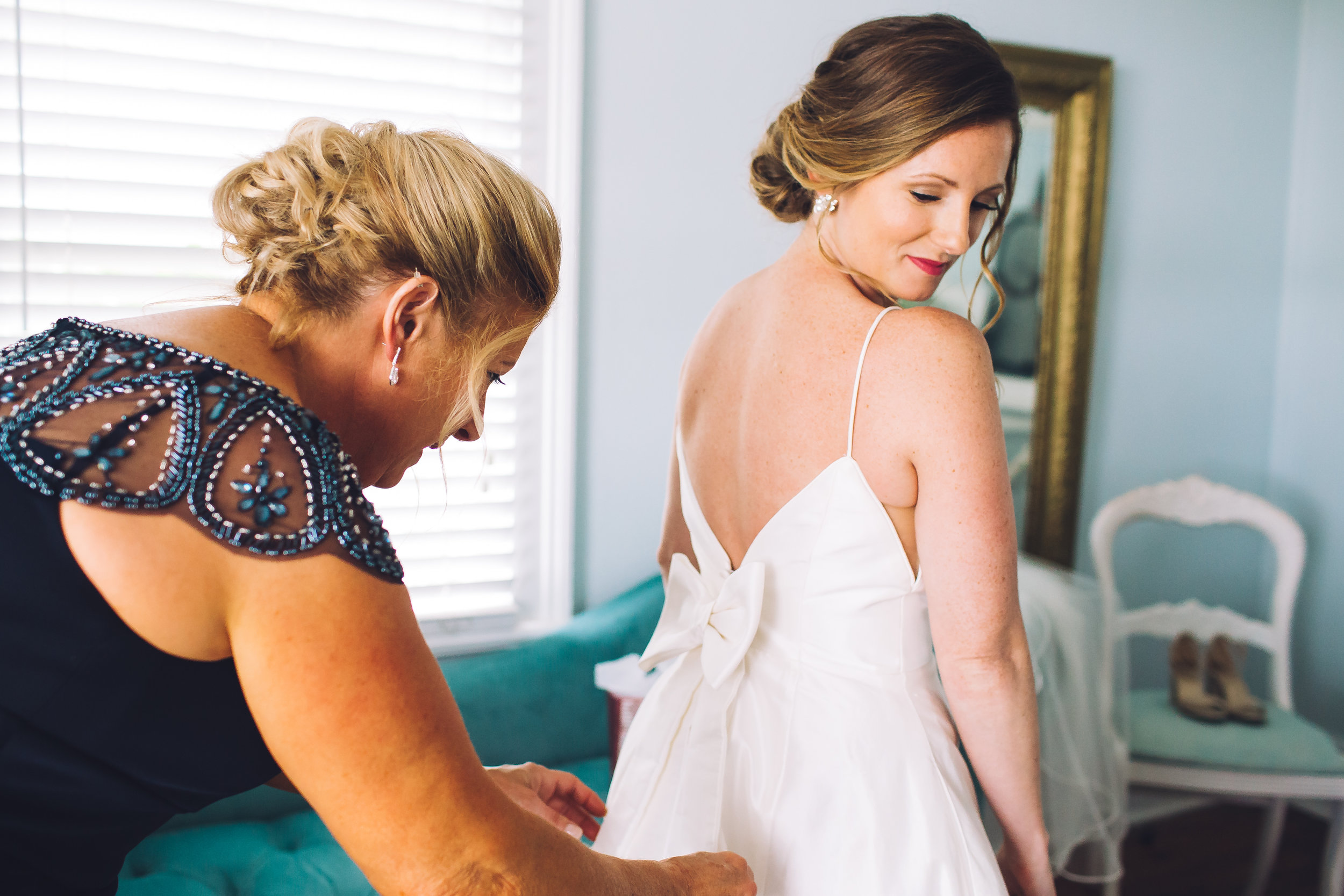 charleston wedding day