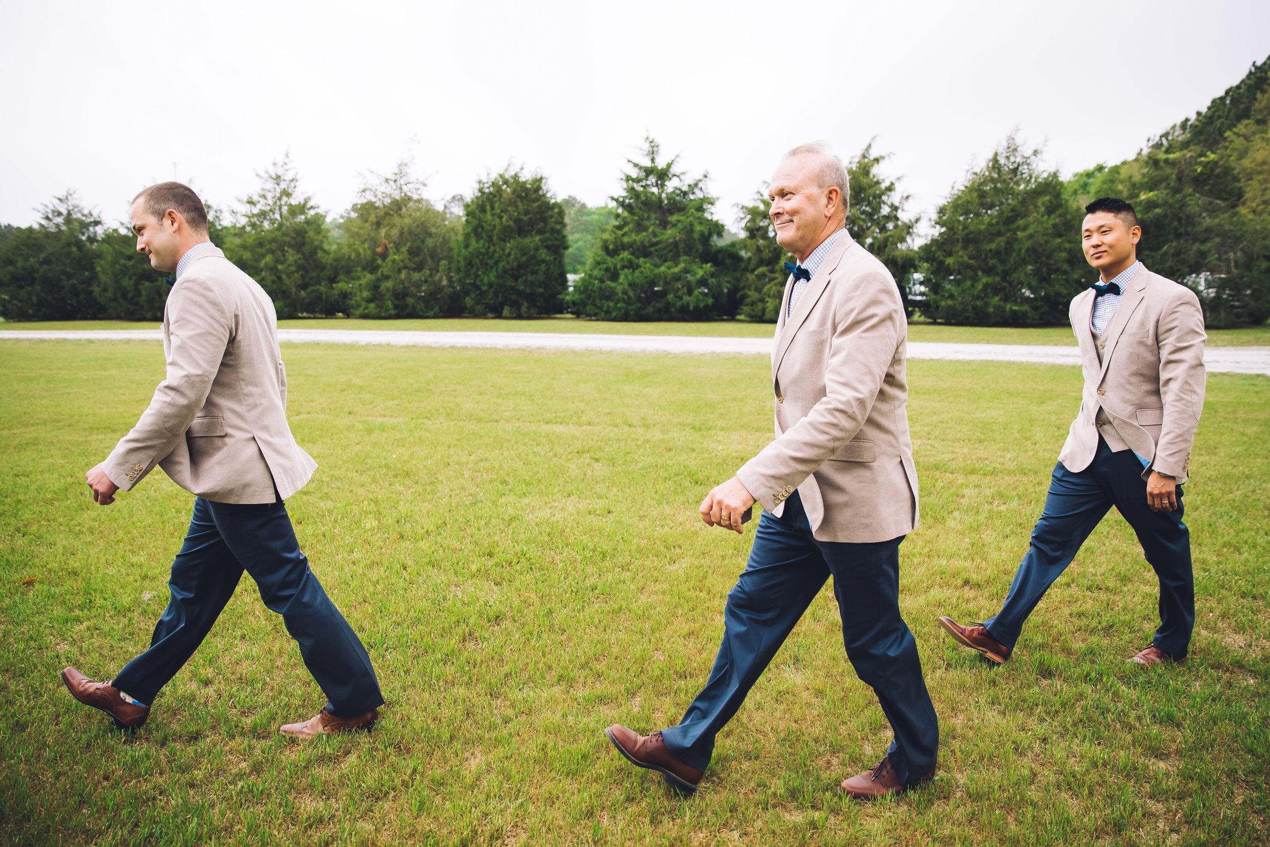 charleston groomsmen