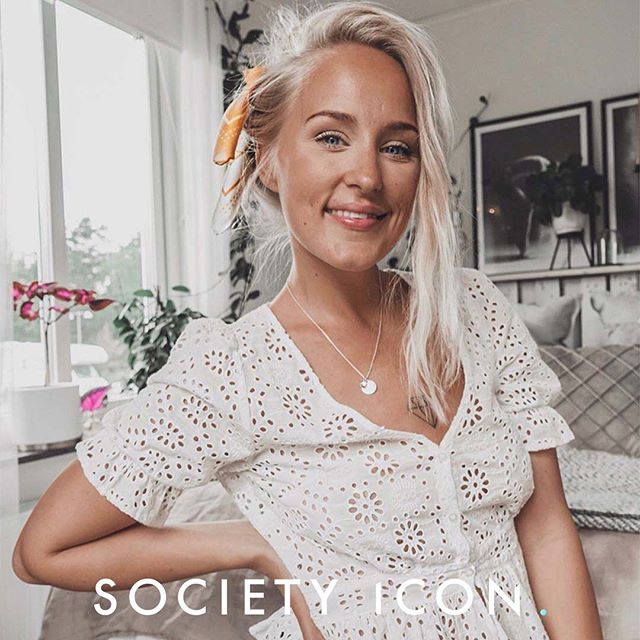 @mariellaesborn is our ICON OF THE DAY! We are happy to represent such a great talent! 🤩✨ #societyicon