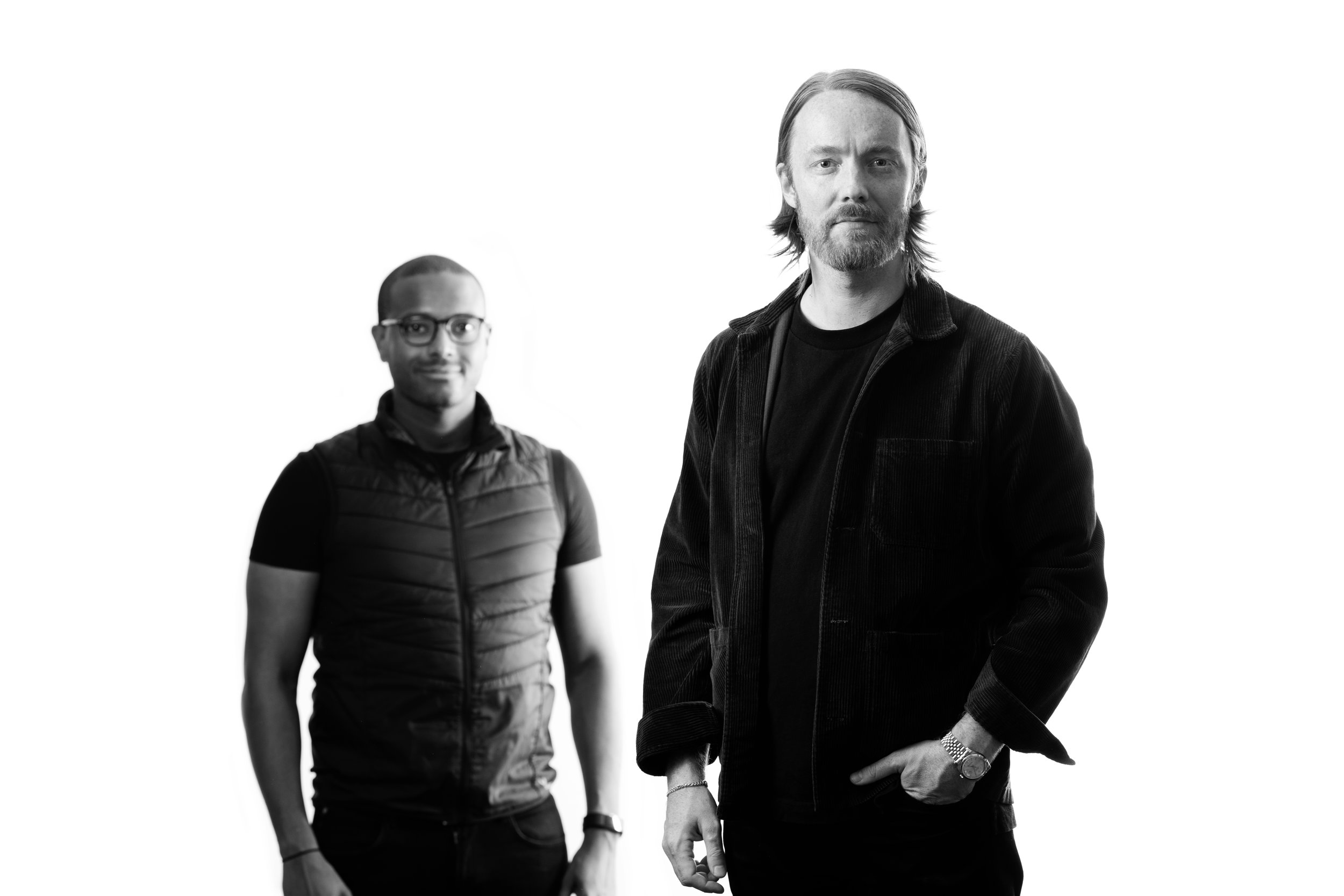 Mose Haregot and Kristofer Åkesson.  Photo: Fredric Johansson