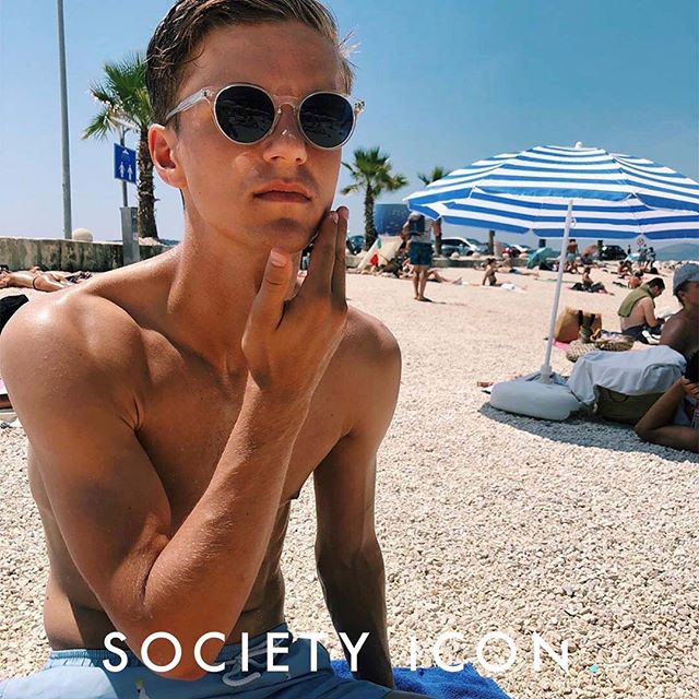 @samuelholm is our ICON OF THE DAY! We are happy to represent such a great talent! 🤩✨ #societyicon