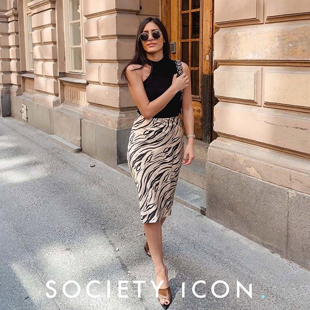 @estheraguirre is our ICON OF THE DAY! We are happy to represent such a great talent! 🤩✨ #societyicon