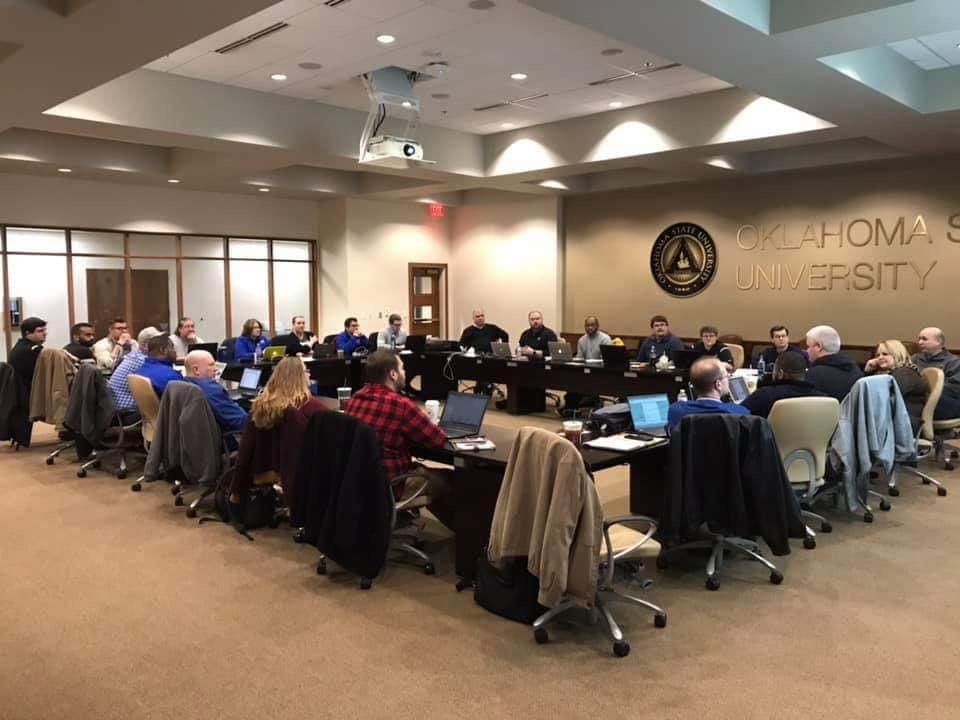 Various members of the National Leadership at Winter Council Meeting.