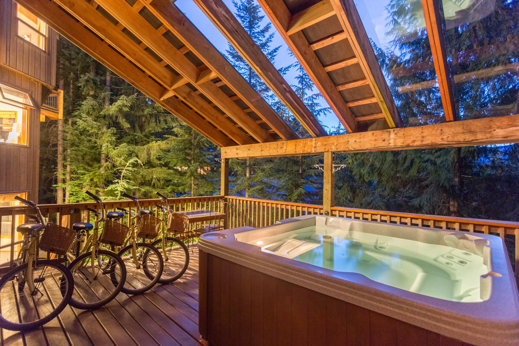 Aurora Lodge - Hot-tub