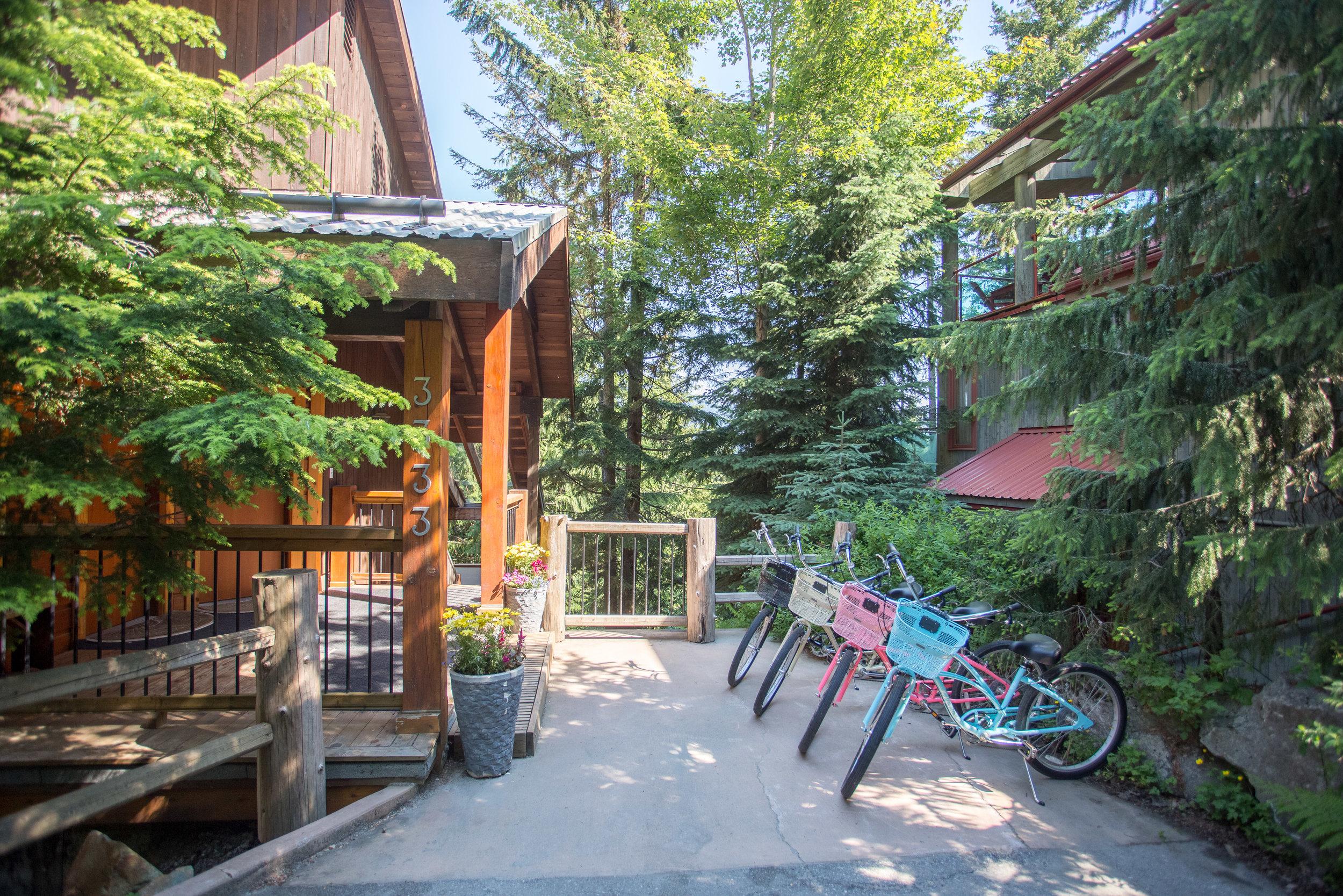 Aurora Lodge - Bikes