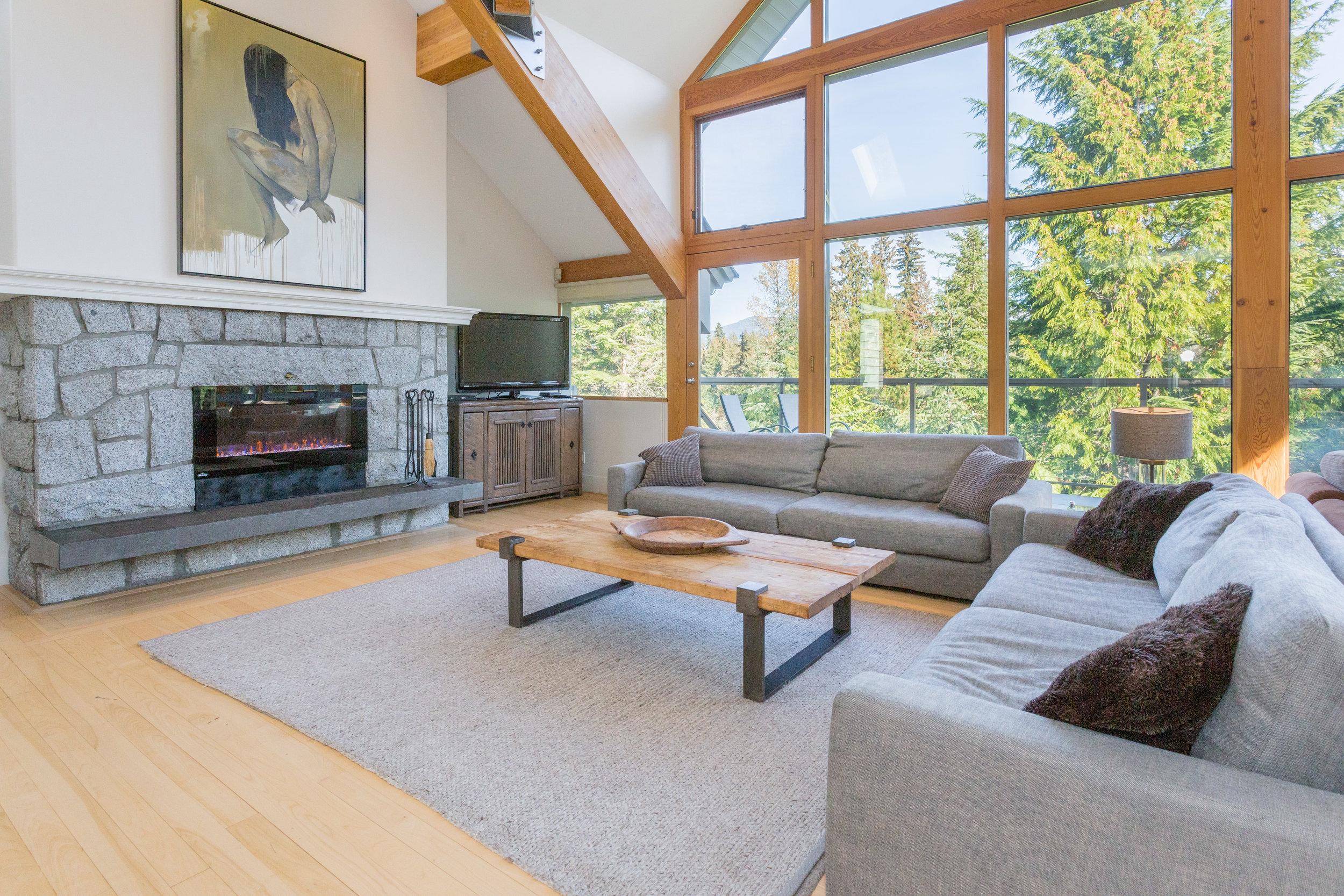 Night Hawk Lane - Living Room