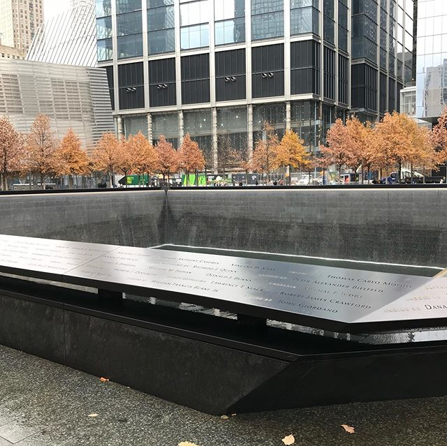 9/11/2001 is a day no one will forget. Visiting the memorial a couple of years ago was an unbelievably sad experience. 💔