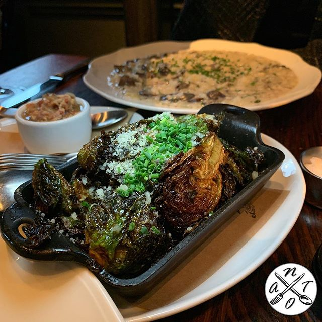 Wayfare Tavern #natoscore 6️⃣7️⃣7️⃣7️⃣ . Roasted #brusselsprouts  pomegranate balsamic glaze, lemon and applewood #bacon jam . . . #sf #sanfrancisco #sflife #sfeats #sfvibes #sfexperience #sfdining #sffood #foodie  #sfrestaurants #diningout #sffoodie #foodies #foodporn #hungry #tasting #onlyinsf #foodlover #tasty #yum #yummy #foodart #foodpics #foodiegram #foodstagram #bestfoodsf #veggies