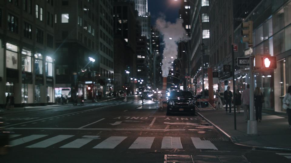 After, Manhattan near midnight