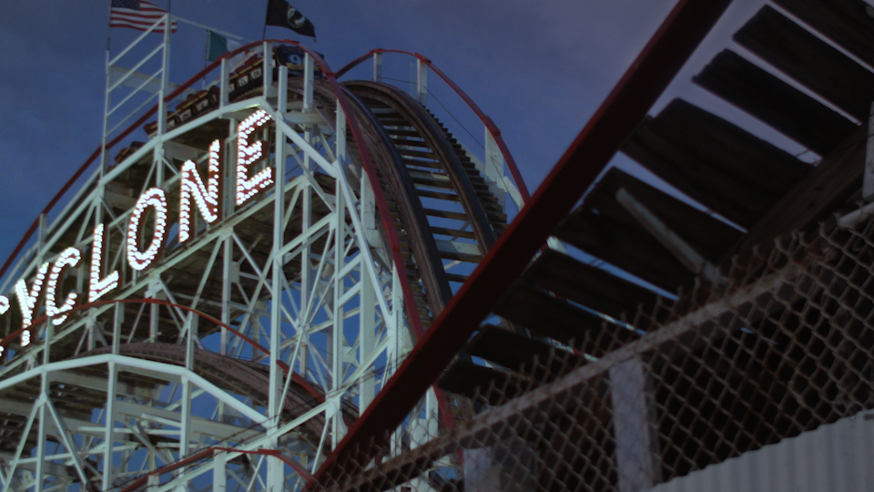 After, Coney Island, later evening