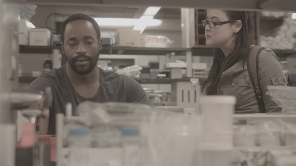 Before, genetics lab at Carnegie Mellon University, day (with  Motell Foster and Olivia Oguma )