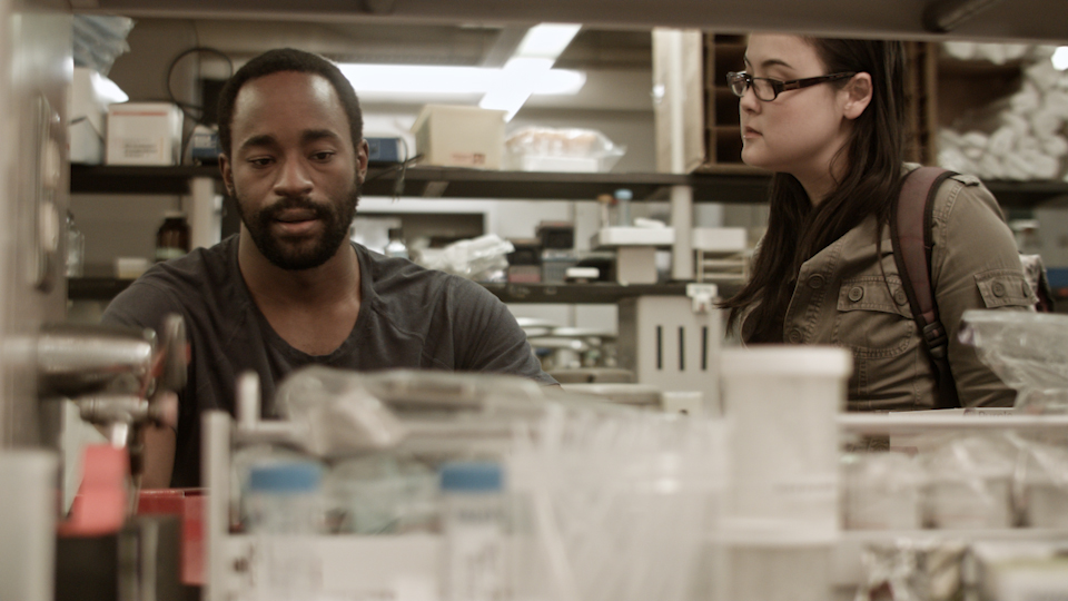 After, genetics lab at Carnegie Mellon University, day (with  Motell Foster and Olivia Oguma )