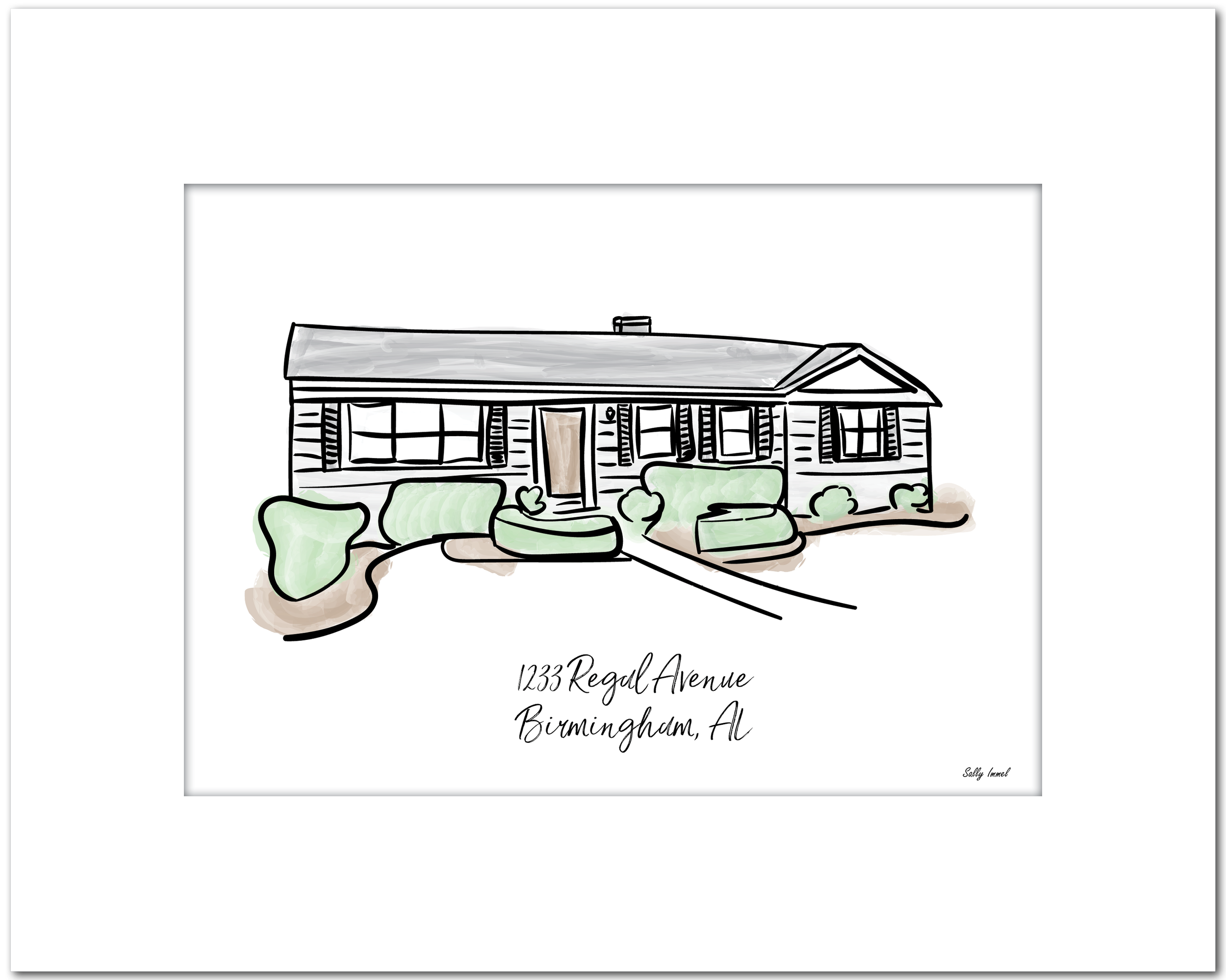 House Sketch // Birmingham, AL