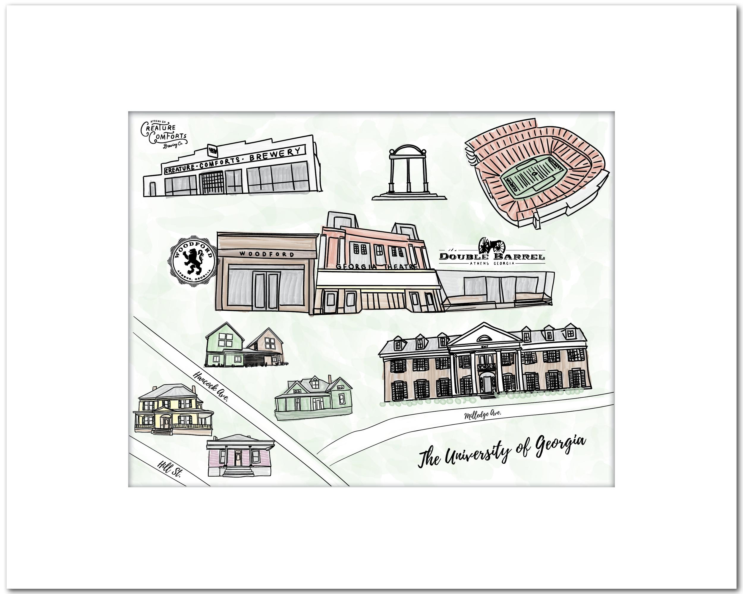 The University of Georgia // Athens, GA