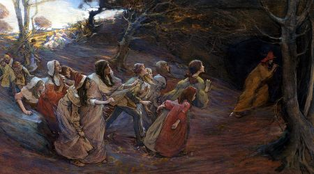 The Pied Piper by Elisabeth Forbes 1859-1912