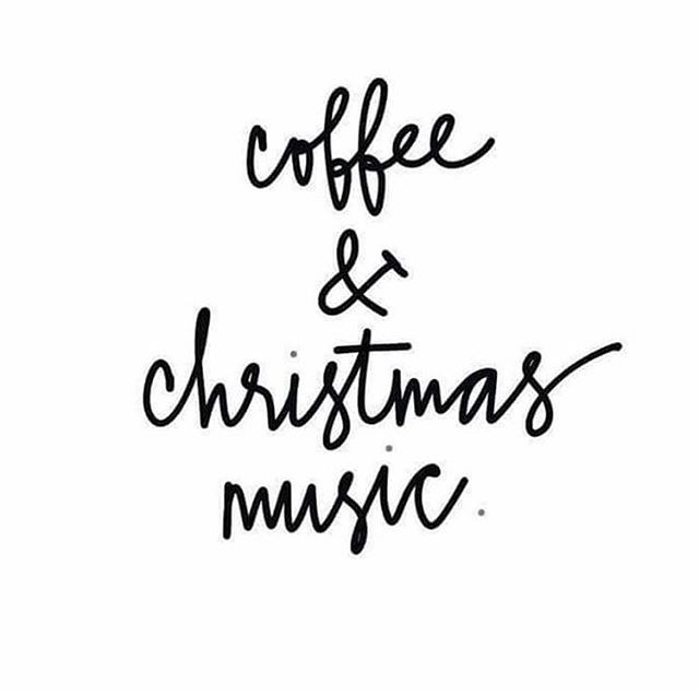 What more could we ask for?! ☕️❤️🎄 #fiveoclockcoffee #Christmas