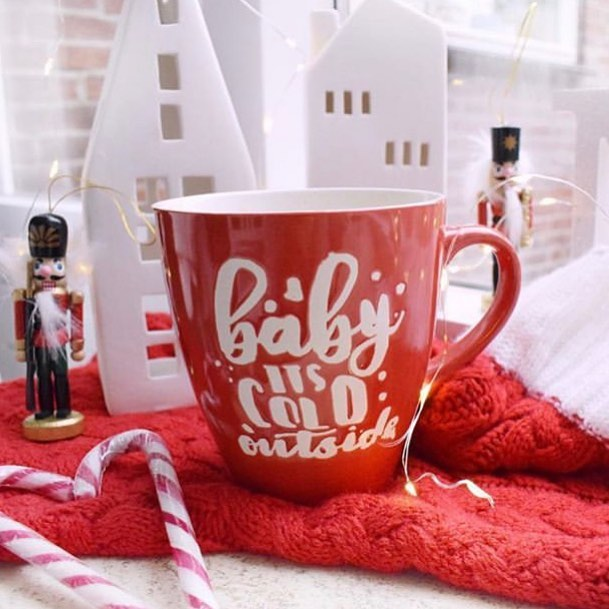 Today is a cold day in Tampa Bay! We can relate to this cute mug! ☕️ 5 O'clock Coffee warms your heart and your hands ❤️🎄❄️ #fiveoclockcoffee