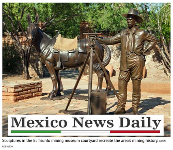 """""""… la historia ha sido bien conservada"""" - (traducido)MEXICO NEWS DAILY (Periódico en Inglés)Lorin R. Robinson, Marzo 2019"""
